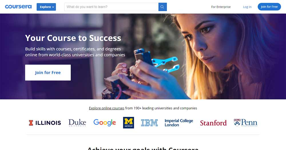 tự học php qua Coursera