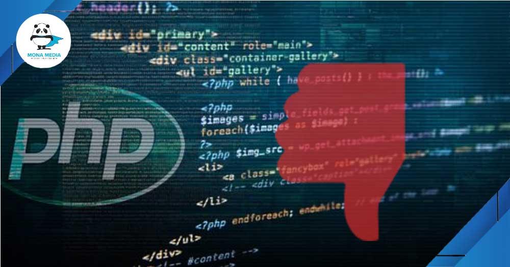 Nhược điểm của PHP