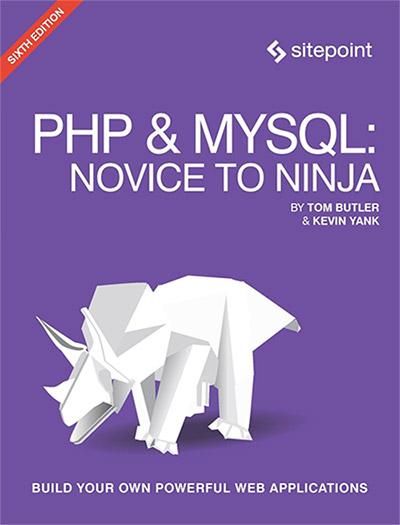 sách lập trình php PHP & MYSQL: Novice To Ninja
