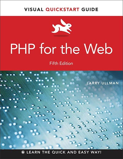 sách lập trình php PHP for the Web: Visual QuickStart Guide