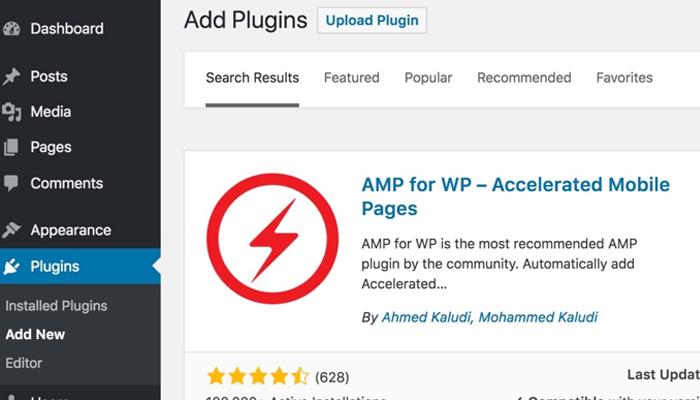 Plugin SEO WordPress miễn phí - AMP